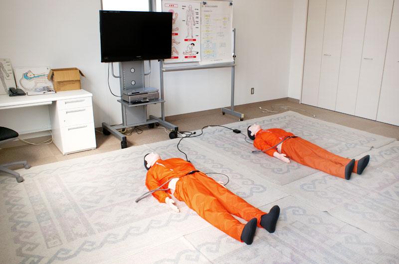 応急救護処置教室室内写真